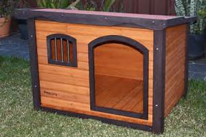 large wooden dog house premium With large wooden dog house