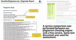 Free plagiarism checking vs paid plagiarism checking for Compare two documents for plagiarism