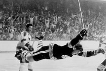 Image result for Picture Bobby Orr's Flying Goal