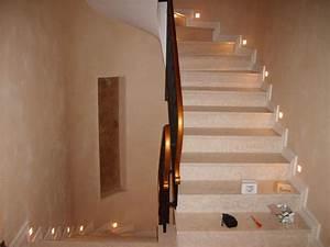 eclairage escalier led obasinccom With eclairage marche escalier interieur