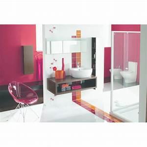 Mobilier Salle De Bain : mobilier de salles de bain au dessin droit lamparo selles ~ Teatrodelosmanantiales.com Idées de Décoration
