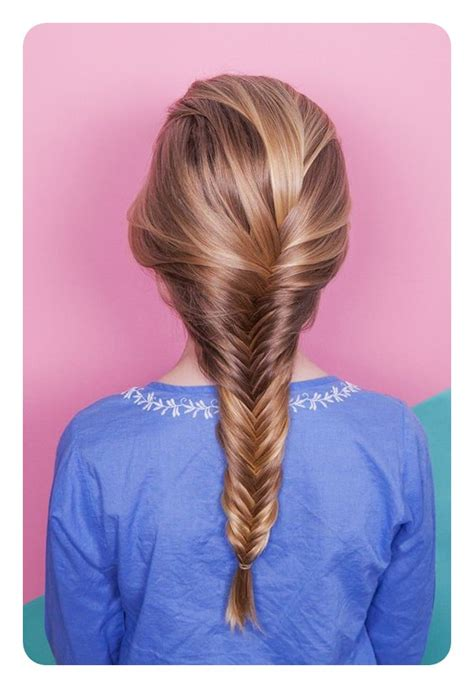 easy fishtail braid ideas   step  step