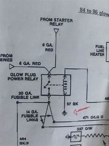 Glow Plug Relay Wiring    Easy One