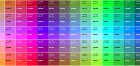 colores hexadecimales colores html para p 225 ginas web c 243 digo hexadecimal en rgb