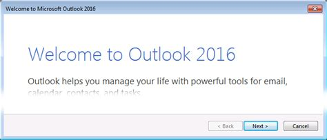 outlook 2016 email outlook 2016 windows set up email business email godaddy help in