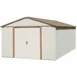 arrow 10 x 11 mid gable storage building sr1011 lawn