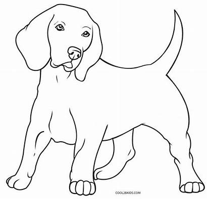 Coloring Dog Pages Printable Sketch Cool2bkids Puppy