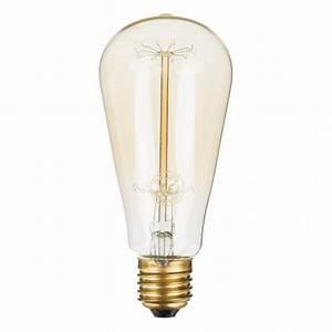 Ampoule Led Decorative : ampoule led d corative mod le edison 40w le monde de rose ~ Teatrodelosmanantiales.com Idées de Décoration