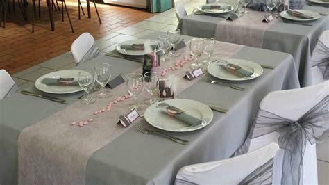 deco de table gris et blanc d 233 coration mariage orely scrap