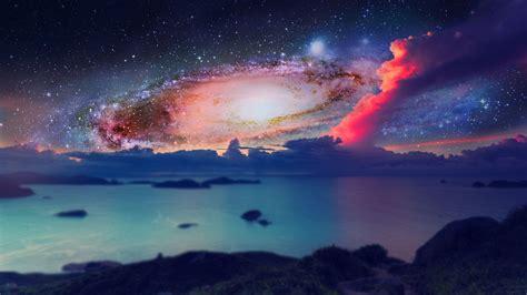space galaxy digital full hd wallpaper
