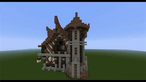 build  viking house  minecraft hd youtube