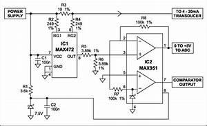 Two Ics Convert 4-20ma Signal To 0-5v Output -  U5e94 U7528 U7b14 U8bb0