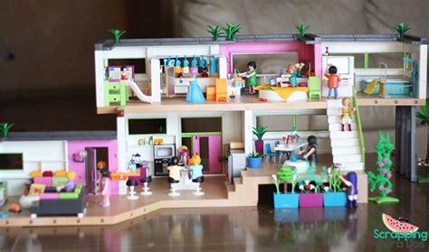 mansion moderna de lujo playmobil