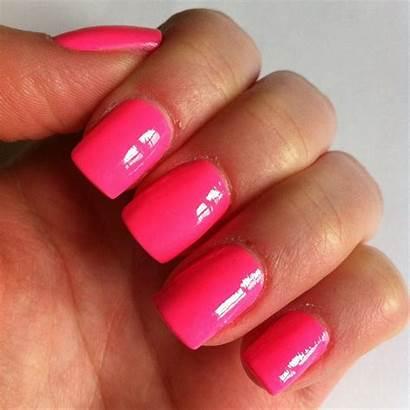 Acrylic Extensions Coloured Nail Polish Salon Beauty
