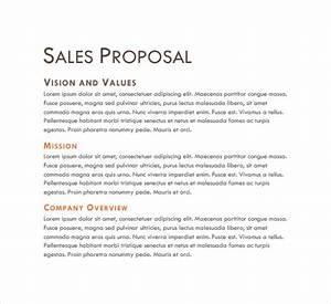 Sales proposal template 13 download free documents in for Sales proposal letter sample free