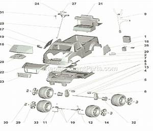 Power Wheels R1500 Parts List And Diagram