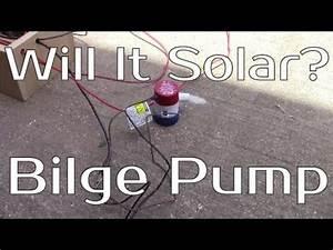 Will It Solar  - Bilge Pump