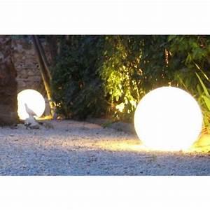 Boule Led Exterieur : les boules lumineuses d coratives pour votre jardin ambiance chaleureuse et moderne ~ Teatrodelosmanantiales.com Idées de Décoration