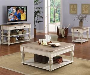 riverside furniture coventry two tone square lift top With two tone square coffee table
