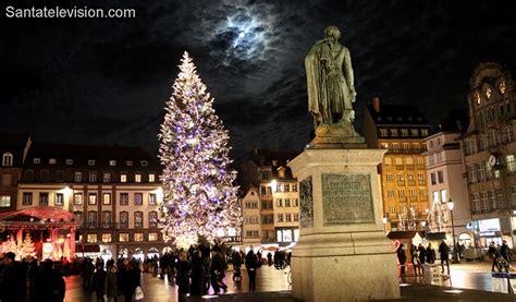 foto 193 rbol de navidad de la plaza kl 233 ber en estrasburgo