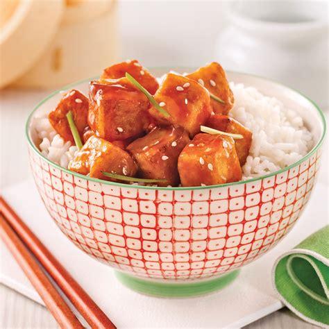 cuisine tofu tofu style général tao recettes cuisine et nutrition