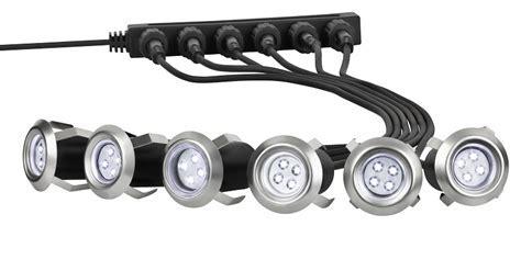 6X LED Einbaustrahler Terrasse Einfahrt Garten