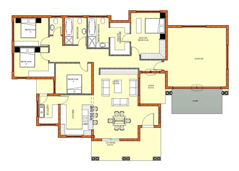 master suite floor plan south 5 bedroom house plans house style and