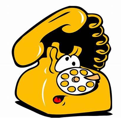 Telephone Phone Clipart Animated Ringing Clip Animation