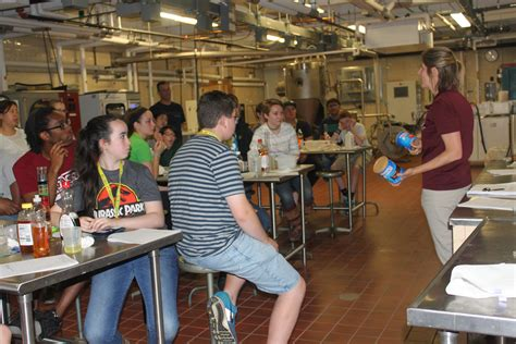 food science supports  summer  science umass center