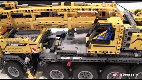 lego technic schwerlastkran spieletest at presents lego technic 42009 mobile crane mk ii mobiler schwerlastkran