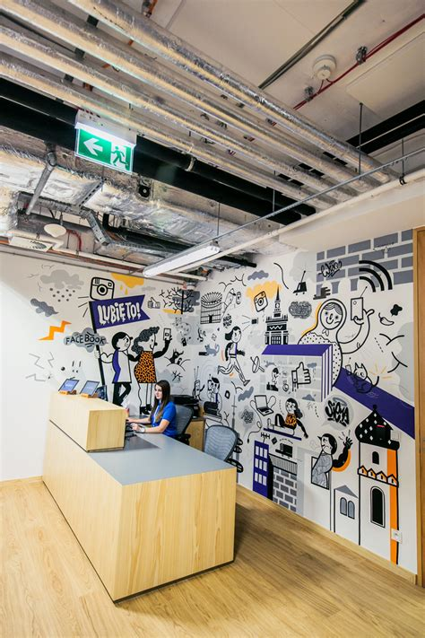 Wall Mural Ideas Office by Poland Office 2016 By Acapulco Studio Wallart