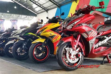 Nmax 2018 Banjarmasin by Semifinal Kontes Modifikasi Motor Maxi Yamaha Di Makassar
