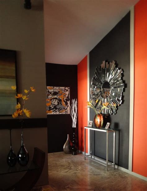 Contemporary Living Room Accent Wall by Accent Wall Modern Living Room San Diego
