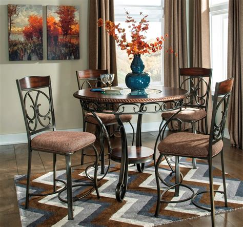 glambrey  dining room counter height table set