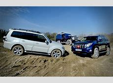 Group Test Land Rover Defender vs Toyota Land Cruiser and