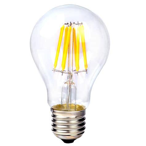 e14 e27 2 4 6 8w edison retro filament cob led candle