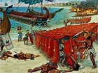61 BC Pompey's army defeat The Pirates at the end of the ...