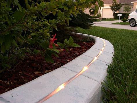 landscaping concrete kwik kerb eurostyle landscape lighting and curb lighting