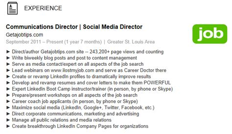 resume bulet points for a waitres wiserutips how to add bullet points onto your linkedin