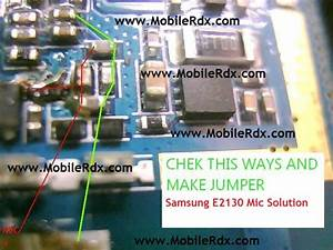 Samsung E2130 Mic Problem Jumper Solution