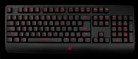 benq s new zowie celeritas ii keyboard is aimed at pros peripherals pc keyboards mice