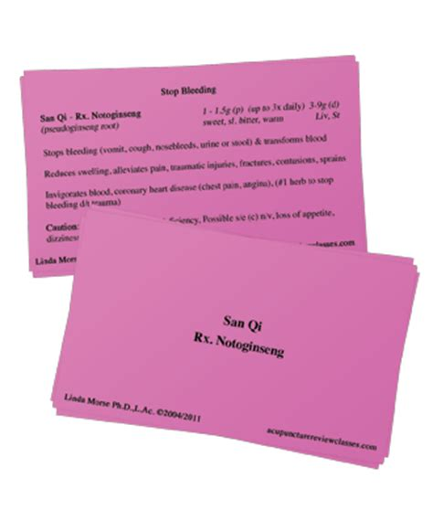 Acupuncture Review Flashcards