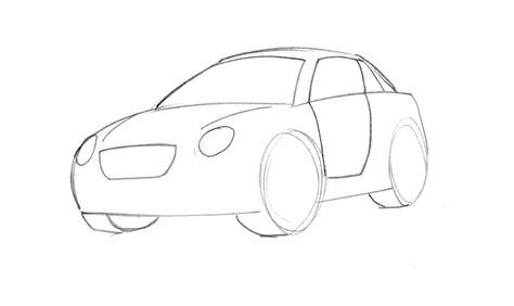 cartoon car drawing learn how to draw a cartoon car easy junior car designer