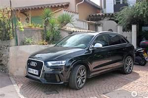 Audi Q3 Noir : audi rs q3 7 fvrier 2015 autogespot ~ Gottalentnigeria.com Avis de Voitures