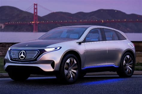 mercedes benz eq  electric hatchback concept