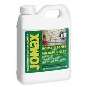 jomax house cleaner mildew killer reviews mixed