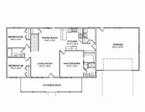 Pictures House Plans 1400 Square by Ranch Style House Plans 1400 Square Foot Home 1 Story