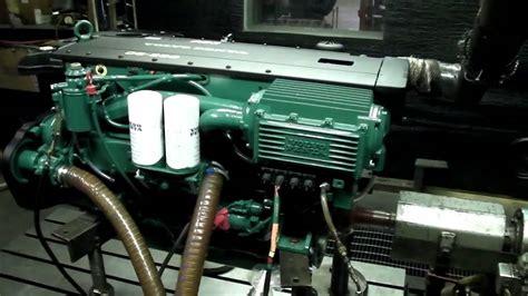 volvo penta marine  hp test dyno youtube