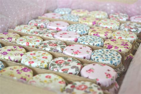 shabby chic wedding favours with shabby chic vintage flower cover country cottage wedding favor
