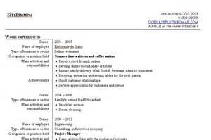 resume for part time job in australia curriculum passepartout flip through the world